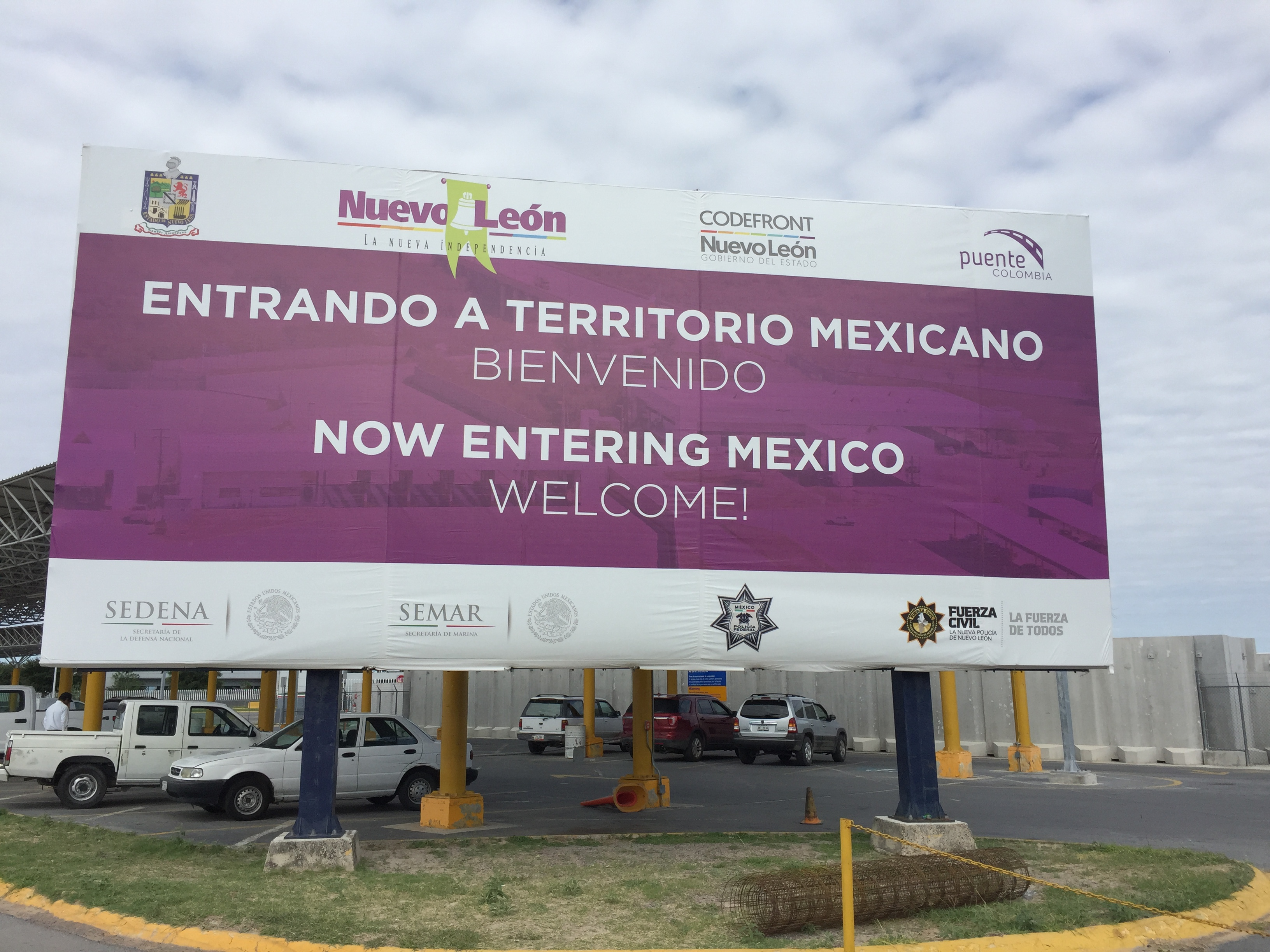 Mexico Border Crossing - Day 2 of our road trip - TexMexExpats