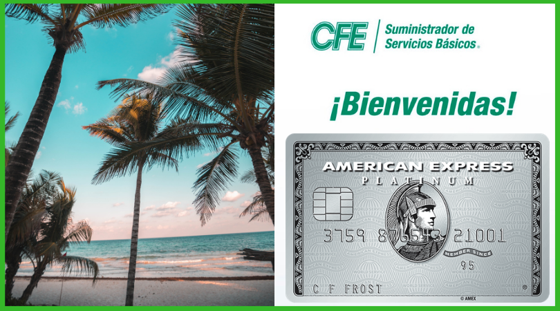 CFE now allowing payments with American Express!