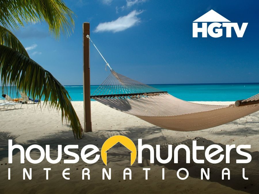 Here comes our 22 minutes of fame – on House Hunters International!